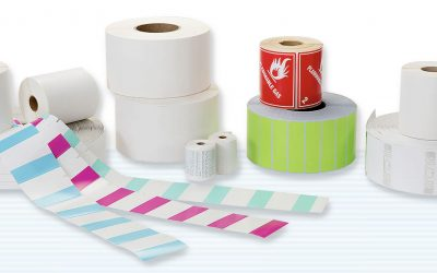 Water soluble labels help to save environment and time