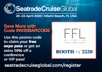 Fresh Food Labels at the Seatrade Cruise Global